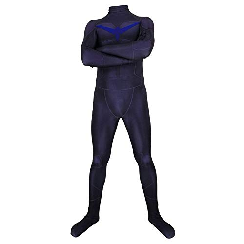 Nightwing Kostüm Kind Für - Nightwing Kostüm Kind Erwachsener Cosplay Kostüm Superhelden Halloween Mottoparty Onesies 3D Druck Strumpfhosen,Men-XXL