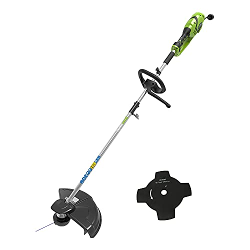 Imagen de Desbrozadora Eléctrica Greenworks Tools por menos de 100 euros.