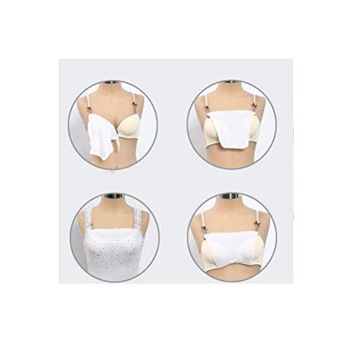 EJOTAY Anti Peep Invisible Bra Seamless Bralette Tube top Bra (1 Set of 3PCS) - 6