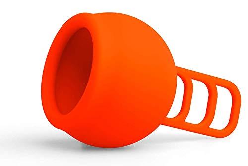 Merula Cup fox (orange) - One size Menstruationstasse aus medizinischem Silikon - 2