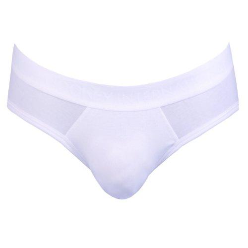 Jockey Herren Premium Cotton Stretch Slip 3er Pack Weiß