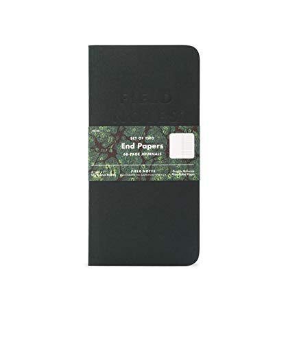 Field Notes Fall 2018 Quarterly Edition - End Papers - Fall 7in Notebook