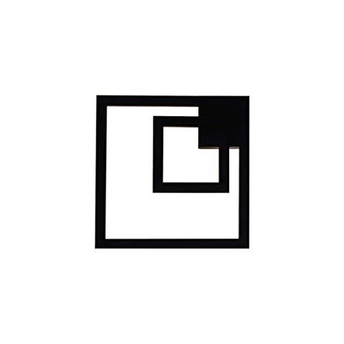 B-D Wandleuchte Led-Beleuchtung Wandmontage Innenwand Eisen Produktionsprozess Delicate 35 * 35 * 12 cm 25W -