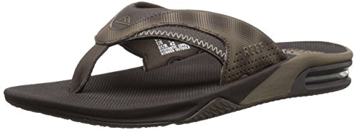 Reef Fanning Prints, Sandales homme Brown (Brown Plaid)