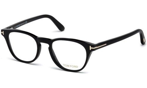 Tom Ford Montures de lunettes 5410 Pour Femme Shiny Black, 49mm 001: Shiny Black