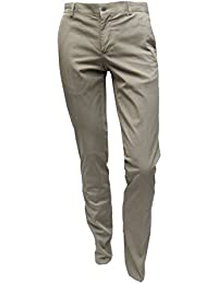 MUGA Freizeit/Business Chino Hosen Slim-fit