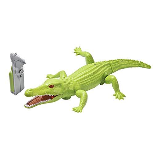 Nouveau Innovatif Infrarouge Deux Voies Télécommande Simulation Crocodile Animal Modèle Jouet Électrique Enfants Jouets Éducatifs par  likeitwell