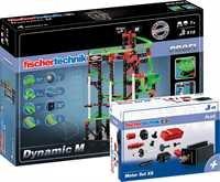 Fischertechnik 533905 - Dynamic M mit Motor Set, Outdoor und Sport, XS