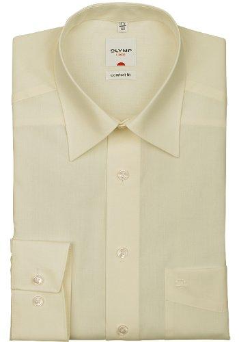 OLYMP - Camicia da uomo Comfort fit a maniche lunghe. 82 beige
