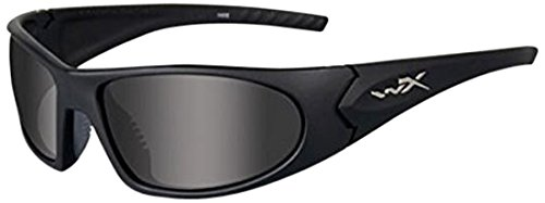 Wiley X Schutzbrille Romer 3, Unisex, Romer 3, Matte Black/Smoke Grey/Clear