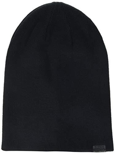 G-STAR RAW Herren Effo Long Beanie Strickmütze, Schwarz (Black 990), One Size (Herstellergröße: PC)