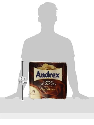 Andrex Shea Butter Toilet Roll Tissue Paper – 45 Rolls