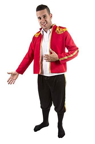 Costumizate! Kostüm für Erwachsene, speziell für Kostümpartys und Karneval, Einheitsgröße (Torero Kostüm Männer)