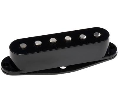 DIMARZIO dp402bk Virtual Vintage Blues Single Coil Pickup Negro w/Bonus Ris Pick (x1) 663334013209