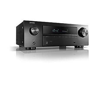 Denon AVR-X550BT 5.2 AV-Receiver 5x130W black 4K UltraHD, Bluetooth®, USB