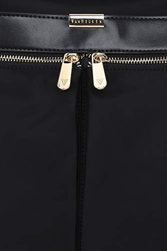 Best vans bag in India 2020 Van Heusen Women's Handbag (Black) Image 4