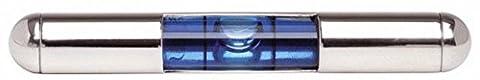 Silver/Blue Spirit Level Tie Slide by David Van Hagen