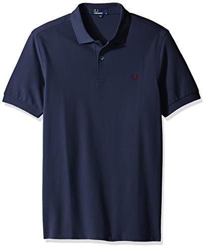 Fred Perry Herren M6000-d41-xxl Poloshirt, Blau (Carbon Blue D41), XX-Large