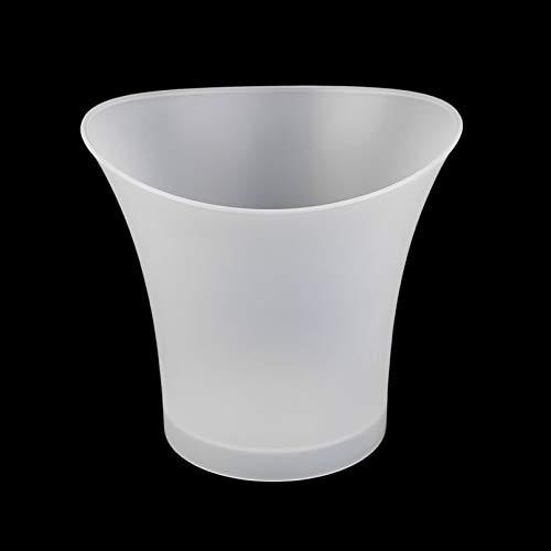 Silverxiel 5L plástico Prueba Agua LED Cubos Enfriadores