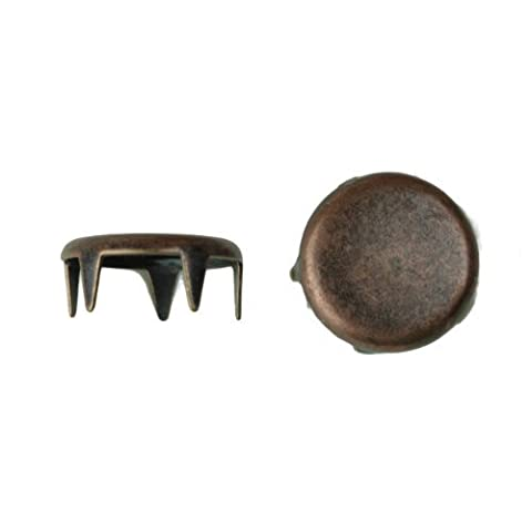 1001 Spot Nailhead, Size 30, Solid Brass, Colonial Copper Finish, 400 pieces per pack by C&C Metal Products Corp