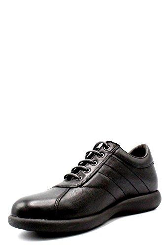 FRAU 27P3 nero scarpe uomo comfort pelle forma fx Nero