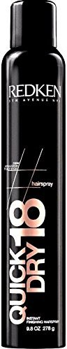 Redken Quick Dry 18 Instant Finishing Hairspray Max Control 9.8oz Newest Packaging by Redken