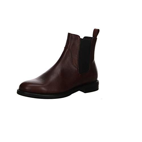 Vagabond Damen Amina Chelsea Boots, Braun (Bordo), 39 EU