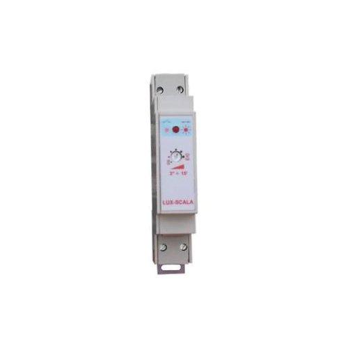 Treppenhaus-Lichtautomat X DIN-Schiene mit Schalter on off Made in Italy (Licht Feste Schiene)