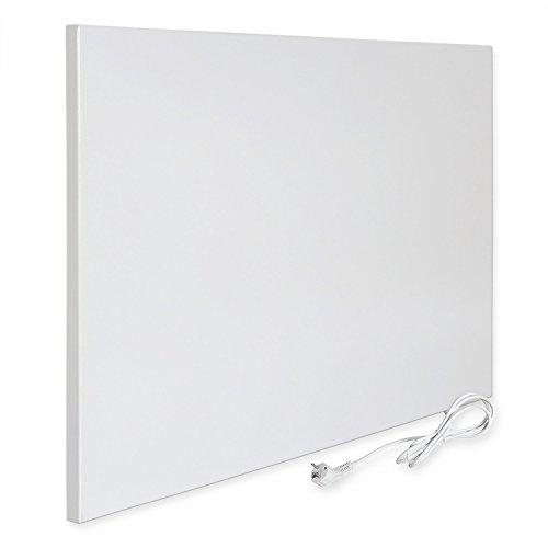 Viesta H400 Infrarotheizung Carbon Crystal (neueste Technologie) Heizpaneel Heizkörper Heizung Heating Panel ultraflache Wandheizung Weiß 400 Watt TH10 Thermostat Bild 3*