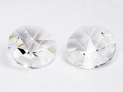 Anhänger von Swarovski Elements rund  6.0mm (Crystal), 48 Stück -