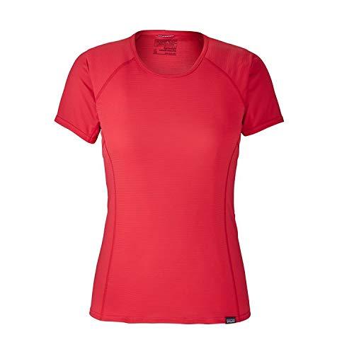Patagonia LW Cap Shirt, Damen M Rot (Maraschino) -