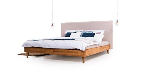 Trendy-Home24 Polster – Holzbett Slim-Wood Eiche. 120×200 cm.Lattenrost im Preis! Premium Angebot !