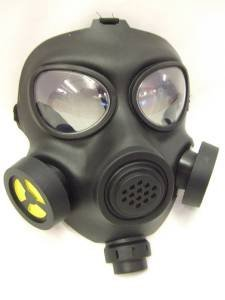 Bad Breaking Party Kostüm - Gas Mask ~ Radioactive ~ Breaking Bad ~ Zombie ~ Apocalypse by Palmer