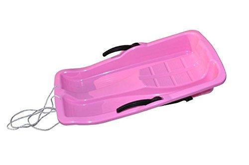 bob-schlitten-rodel-schneegleiter-bremsen-inkl-zugseil-4-farben-zur-auswahl-rosa