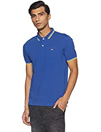 Byford By Pantaloons Men's Solid Slim Fit Polo