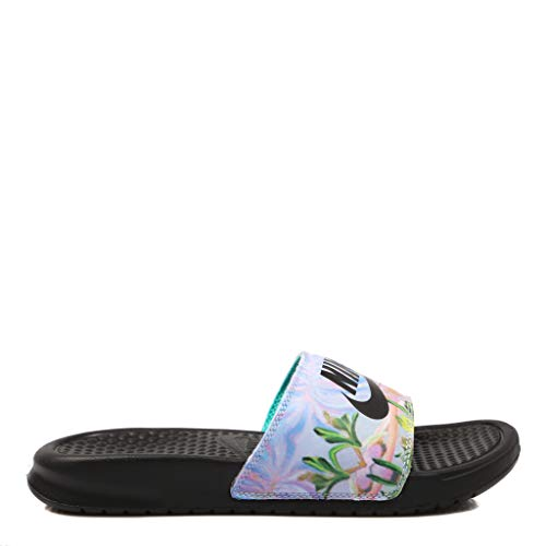 Nike, Benassi JDI Platinum 618919, Infradito per Donna, 38