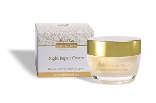 Mon Platin Gold Edition - Night Repair Cream With Black Caviar&golden Complex 50ml by Mon Platin -