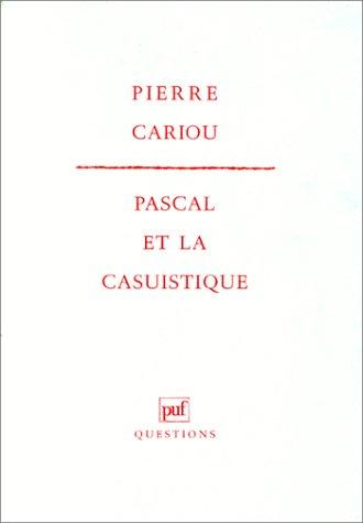 Pascal et la casuistique