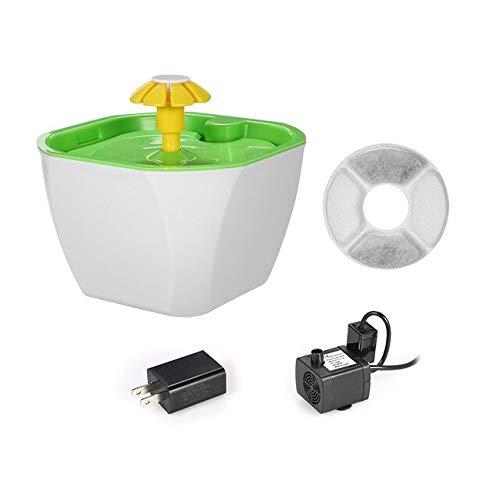 Automatische Pet Feeder Bowl Pet Auto Zyklus Brunnen Blume Katze Hund Elektro-Brunnen Trinkwasserspender Filter Uns -