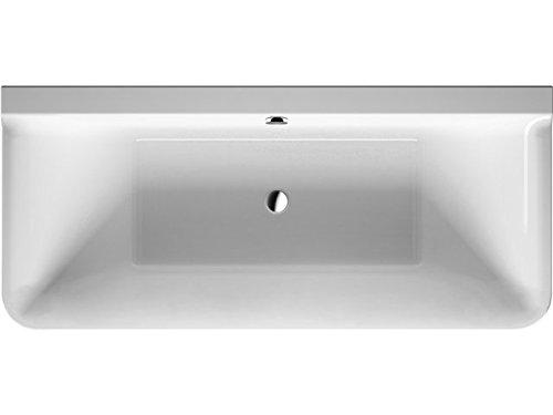 Duravit Badewanne P3 Comforts 1800x800mm Vorwand, mit Acrylverkl., 2 RS, weiß, 700381000000000
