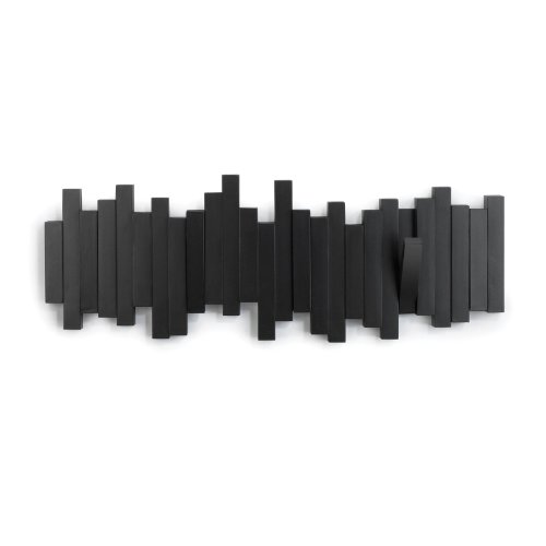 umbra-318211-040-perchero-decorativo-de-pared-sticks-negro