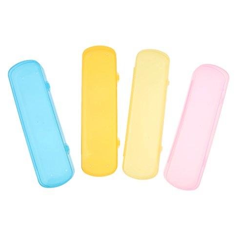 Porte-brosse à dents et dentifrice Étui boîte pour protéger brosse Voyage Camping