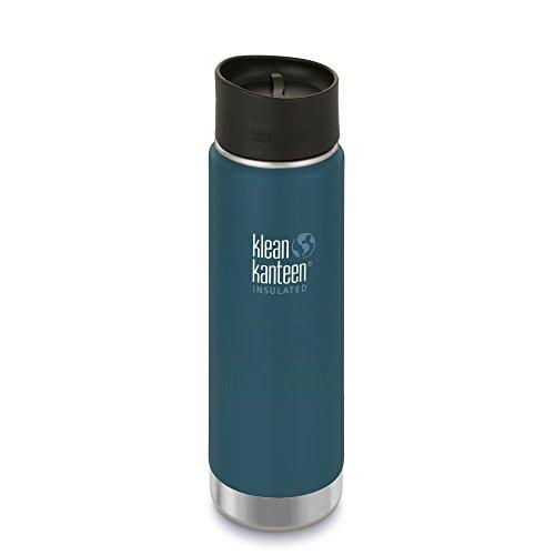 Klean Kanteen Wide Vakuumisoliert Café Cap 2.0 Volumen 473 neptune blue