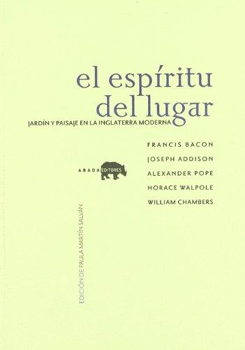 Espiritu Del Lugar,El (Lecturas de paisaje) por Varios autores