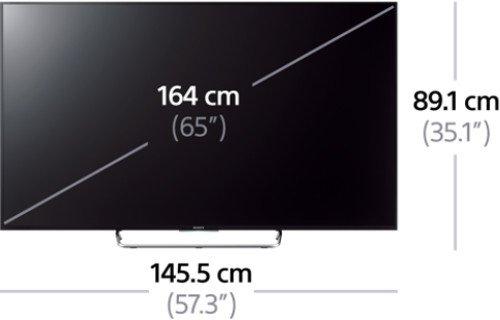 Fernseher – Sony – KDL-65W855C – 65 Zoll - 12