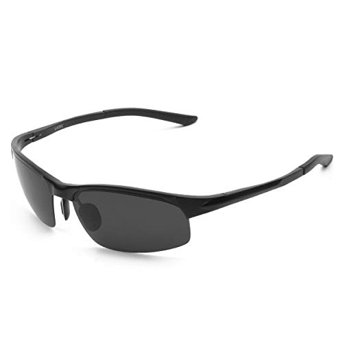 d7e23a7479 LATEC Gafas de Sol de conducción polarizada, Gafas de conducción para  Hombres Gafas Deportivas Gafas