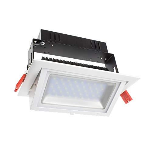 Foco Proyector LED SAMSUNG 120lm/W Direccionable Rectangular 20W LIFUD Blanco Neutro 4000K...