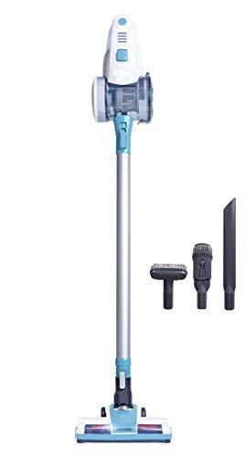 DXIII DELUXE13 Aspirador de Mano sin Cable Potente Motor 12KPA Ciclónico - Batería Samsung - Todos los Accesorios - Sin Bolsa