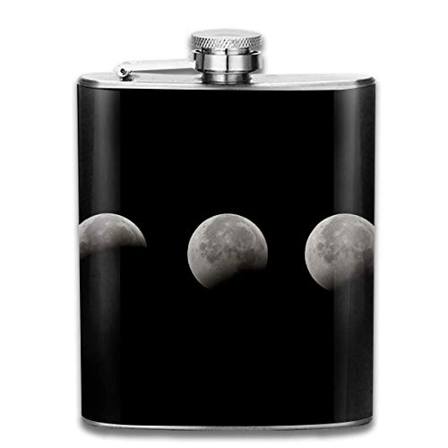 Sdltkhy Lunar Eclipse Classic Flask - 7oz Pocket Flask