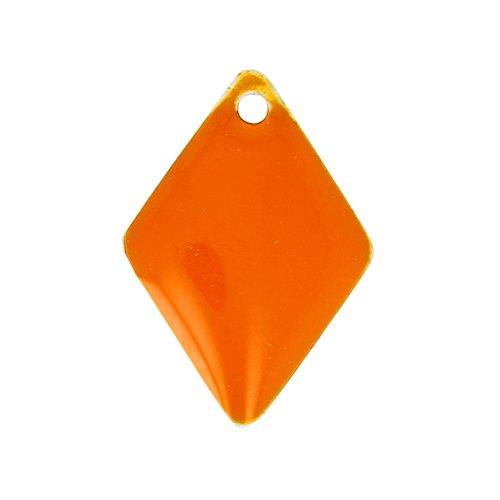 rombi-in-smalto-epossidico-15-mm-orange-x8